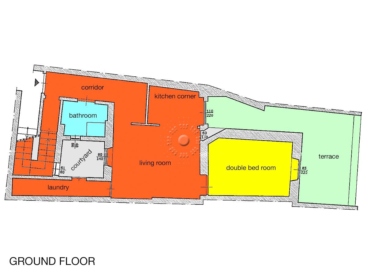 planimetria paino terra