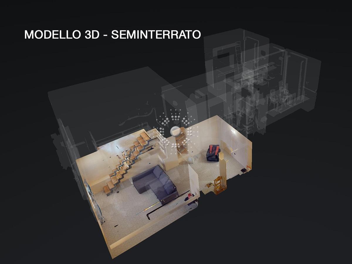 modello 3D seminterrato