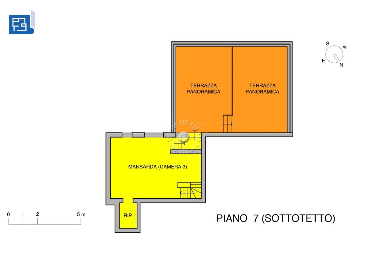 planimetria piano 7